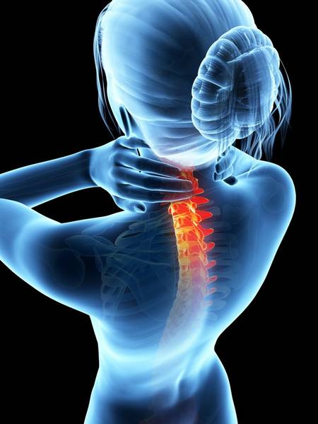 cure back pain at home